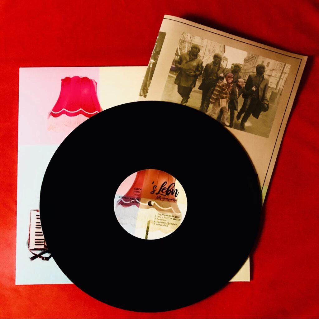Vinyl Schallplatte&Texte